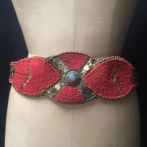 Accessories - Vintage beaded belt
